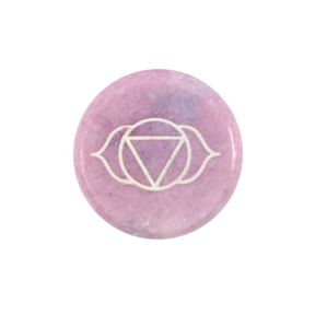 Third Eye Meditation Stone PK/6