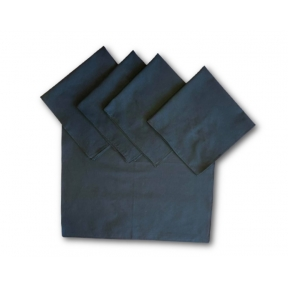 Cotton Black Tarot Cloth - Pack of 5