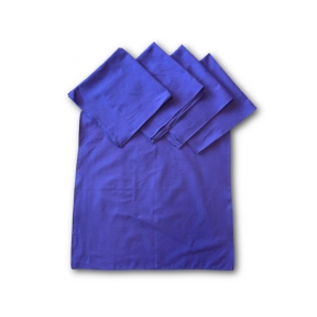 Cotton Purple Tarot Cloth - Pack of 5