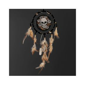 Skull & Roses LED Dreamcatcher