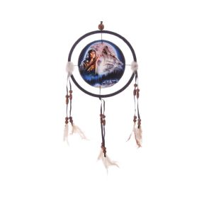 Wolf Dreamcatcher - Wolf Maiden Dreamcatcher