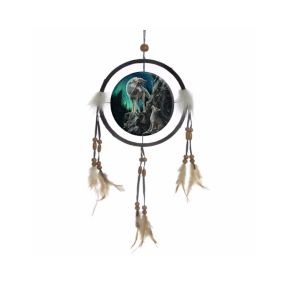 Guidance Wolf Dreamcatcher