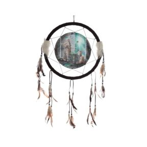 Hubble Bubble Cat and Kitten Dreamcatcher - Lisa Parker Collection