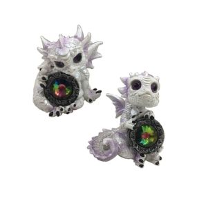 Winter Warrior Dragon Crystal Soul - Pack of 6