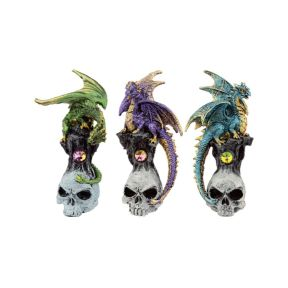 Gemstone Skull Dragon