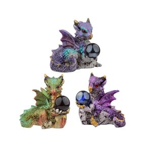 Dragon with Orb - Pack of 6