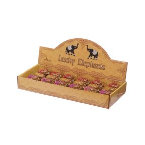 Mini Glitter Elephants - Box of 12