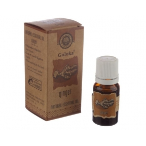 Goloka Ginger Natural Essential Oil 10ml