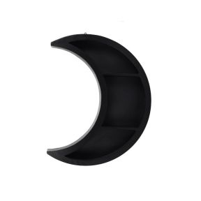 Black Cresent Moon Shelf