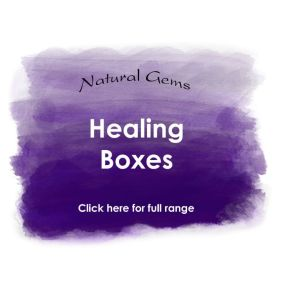 Healing Boxes - Natural Gems Range