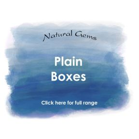 Plain Boxes - Natural Gems Range