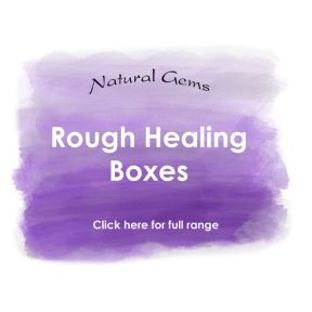 Healing Boxes - Natural Rough Gems Range