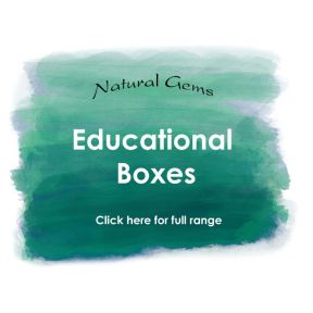 Educational Boxes - Natural Gems Range