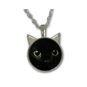 Cat pendant & chain