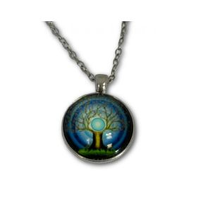 Tree of life pendant & chain