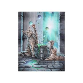 Anne Stokes Small Hubble Bubble Canvas