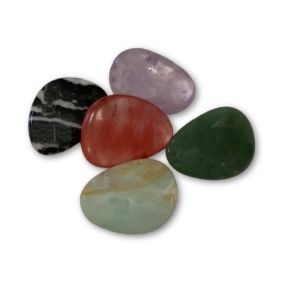 Mixed Thumb Stones - Pack of 5