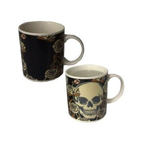 Skulls & Roses Colour Changing Mug