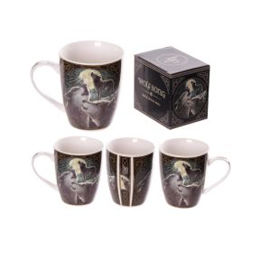 Wolf Song Mug - Lisa Parker Collection