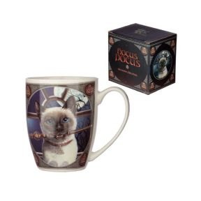 Lisa Parker Hocus Pocus Cat New Bone China Mug