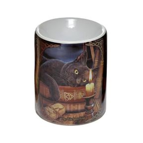 Lisa Parker Ceramic The Witching Hour Cat Oil Burner