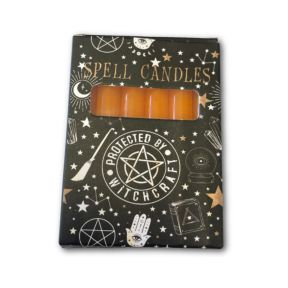 Orange Spell Candles - Pack of 6