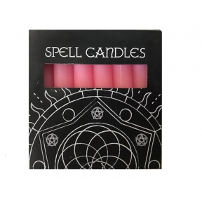 Pink Spell Candles - Pack of 6