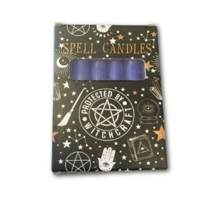 Purple Spell Candles - Pack of 6