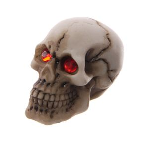 Skull with Red Gem Eyes Pack of 12
