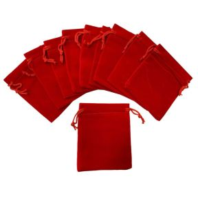 Red Velvet Pouch - Pk of 10