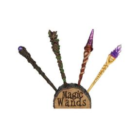 Mystical Wands Display Plus Eight Wands
