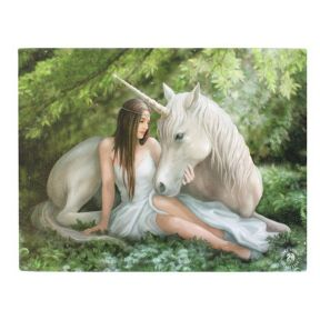 Pure Heart Wall Plaque - Anne Stokes