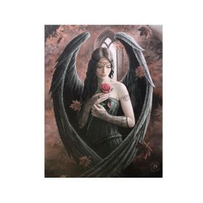 Angel Rose Wall Plaque - Anne Stokes
