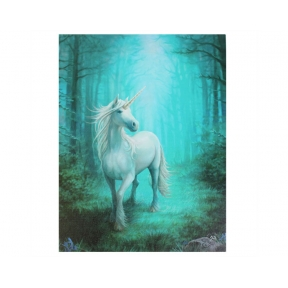 Forest Unicorn Anne Stokes Wall Plaque