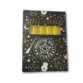 Yellow Spell Candles - Pack of 6
