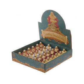 Mini Metallic Effect Buddhas - Box of 24