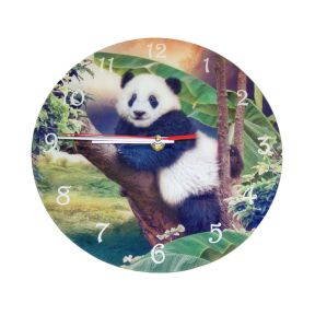 Paddy Panda Clock - by Cindy Grundsten