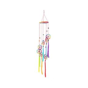 Chakra Style Dreamcatcher with Tassels