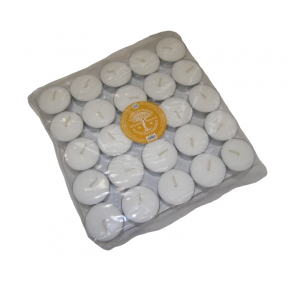 Earth Elements - White Tealights - Bag of 50