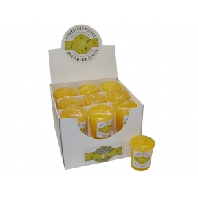 Earth Elements Sherbet Lemon Votive Candles - Box of 18