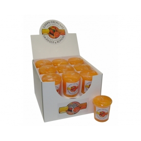 Earth Elements Orange & Lemon Votive Candles - Box of 18