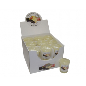 Earth Elements Vanilla Votive Candles - Box of 18