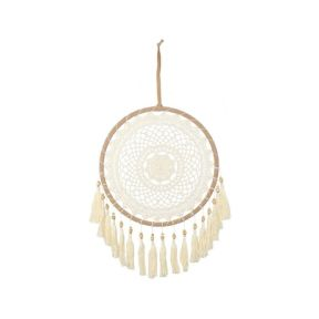 Cream Dreamcatcher with Tassels - 60cm