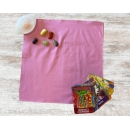 Cotton Pink Tarot Cloth - Pack of 5
