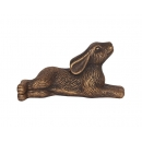 Bronze Garden Laying Hare Ornament