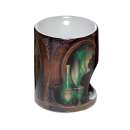 Lisa Parker Ceramic Absinthe Cat Oil Burner