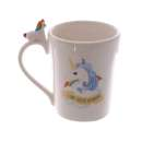 Unicorn on Handle Mug